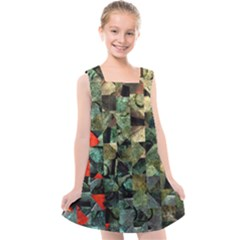 Urbangeometry Kids  Cross Back Dress by designsbyamerianna