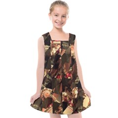 Piecesofme Kids  Cross Back Dress by designsbyamerianna