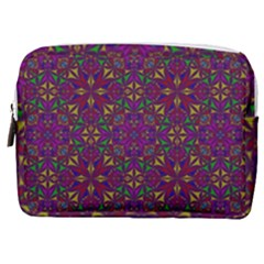 Triangle Pattern Kaleidoscope Color Make Up Pouch (medium)