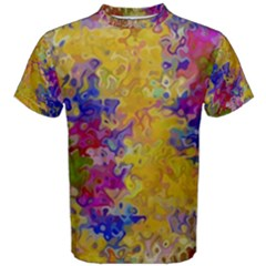 Marble Texture Abstract Abstraction Men s Cotton Tee
