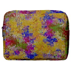 Marble Texture Abstract Abstraction Make Up Pouch (large)