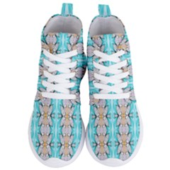 Seamless Wallpaper Pattern Ornament Women s Lightweight High Top Sneakers