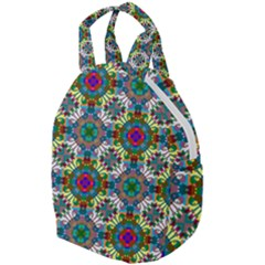Seamless Pattern Decoration Travel Backpacks by Pakrebo