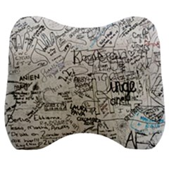 Messages Note Notitiebord Memo Velour Head Support Cushion