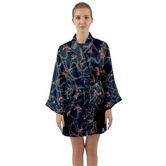 Chains Glam Pattern Long Sleeve Kimono Robe by tarastyle