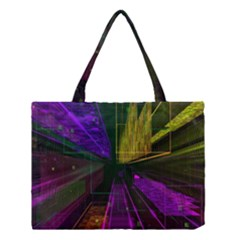 Data City Large Fiction Digital Medium Tote Bag