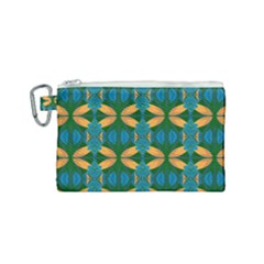 Seamless Wallpaper Digital Patterns Canvas Cosmetic Bag (small)