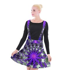 Fractal Rendering Digital Art Suspender Skater Skirt