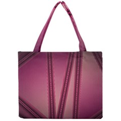 Background Pink Pattern Mini Tote Bag