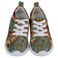 Fractal Rendering Pattern Abstract Kids  Lightweight Sports Shoes