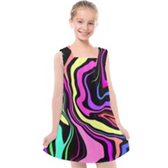 The 80s R Back Kids  Cross Back Dress by designsbyamerianna