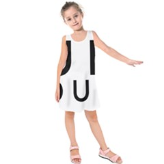 Uh Duh Kids  Sleeveless Dress by FattysMerch