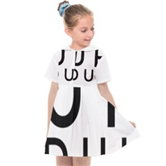 Uh Duh Kids  Sailor Dress by FattysMerch