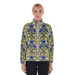 Pattern Thistle Structure Texture Winter Jacket