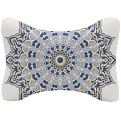 Arabesque Mandala Decorative Seat Head Rest Cushion by Pakrebo