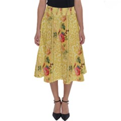 Pattern Backgrounds And Textures Perfect Length Midi Skirt