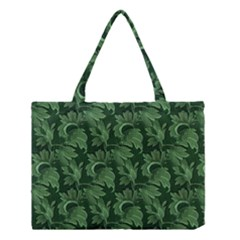 Leaf Flora Nature Desktop Herbal Medium Tote Bag by Pakrebo