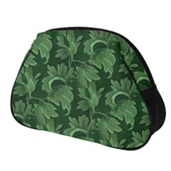 Leaf Flora Nature Desktop Herbal Full Print Accessory Pouch (small)