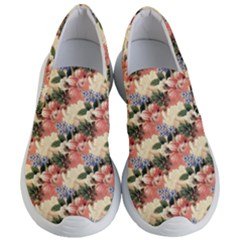 Flower Floral Decoration Pattern Women s Lightweight Slip Ons by Pakrebo