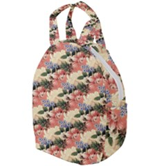 Flower Floral Decoration Pattern Travel Backpacks by Pakrebo
