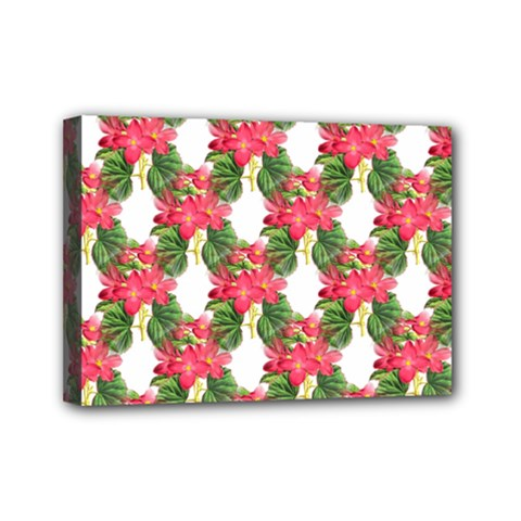 Floral Seamless Decorative Spring Mini Canvas 7  X 5  (stretched)