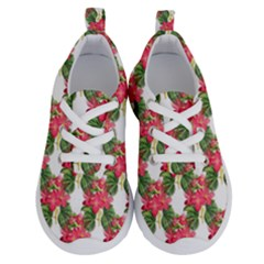 Floral Seamless Decorative Spring Running Shoes by Pakrebo