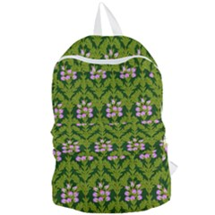 Pattern Nature Texture Heather Foldable Lightweight Backpack