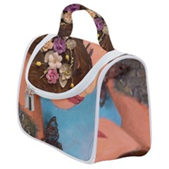 Flower Crown Satchel Handbag