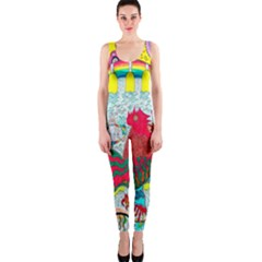 Supersonic Key West Gypsy Blast One Piece Catsuit by chellerayartisans