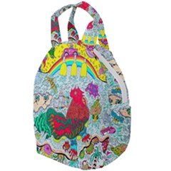 Supersonic Key West Gypsy Blast Travel Backpacks by chellerayartisans