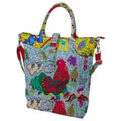 Supersonic Key West Gypsy Blast Buckle Top Tote Bag