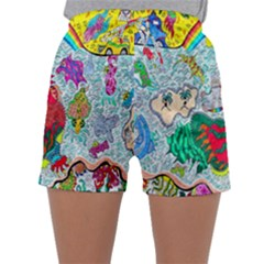 Supersonic Key West Gypsy Blast Sleepwear Shorts