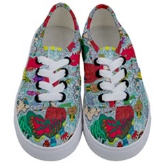Supersonic Key West Gypsy Blast Kids  Classic Low Top Sneakers