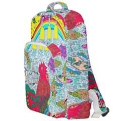 Supersonic Key West Gypsy Blast Double Compartment Backpack by chellerayartisans