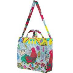 Supersonic Key West Gypsy Blast Square Shoulder Tote Bag