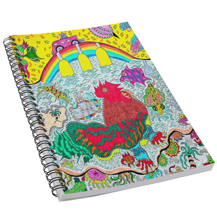 Supersonic Key West Gypsy Blast 5.5  x 8.5  Notebook