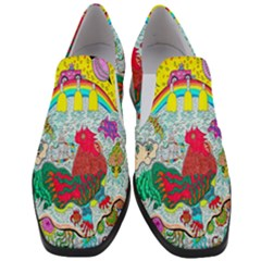 Supersonic Key West Gypsy Blast Women Slip On Heel Loafers