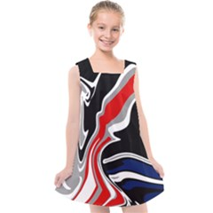 Againstthetide Kids  Cross Back Dress by designsbyamerianna