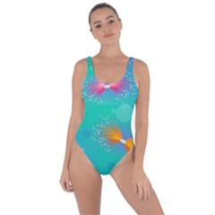 Non Seamless Pattern Blues Bright Bring Sexy Back Swimsuit