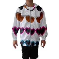 Eyeglasses Kids  Hooded Windbreaker