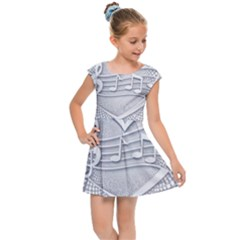 Circle Music Kids  Cap Sleeve Dress