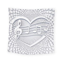 Circle Music Square Tapestry (small)