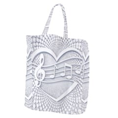 Circle Music Giant Grocery Tote
