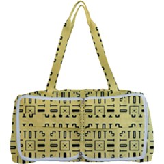 Background Yellow Multi Function Bag