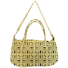 Background Yellow Removal Strap Handbag