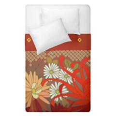 Abstract Flower Duvet Cover Double Side (single Size) by HermanTelo