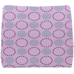 Circumference Point Pink Seat Cushion