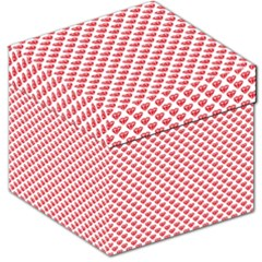 Red Diamond Storage Stool 12