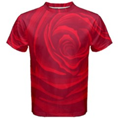 Roses Red Love Men s Cotton Tee