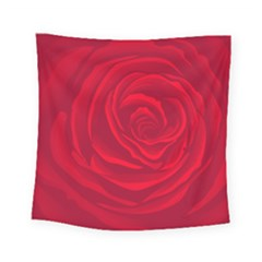 Roses Red Love Square Tapestry (small)